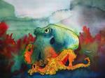 Octopus by Elora-Danen