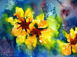 Sunflowers by Elora-Danen