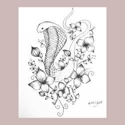 Flowery Snake
