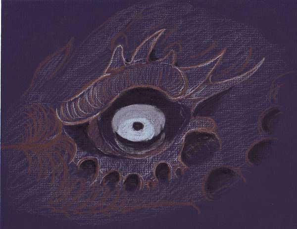Dragon's Glare by Th3-Vort