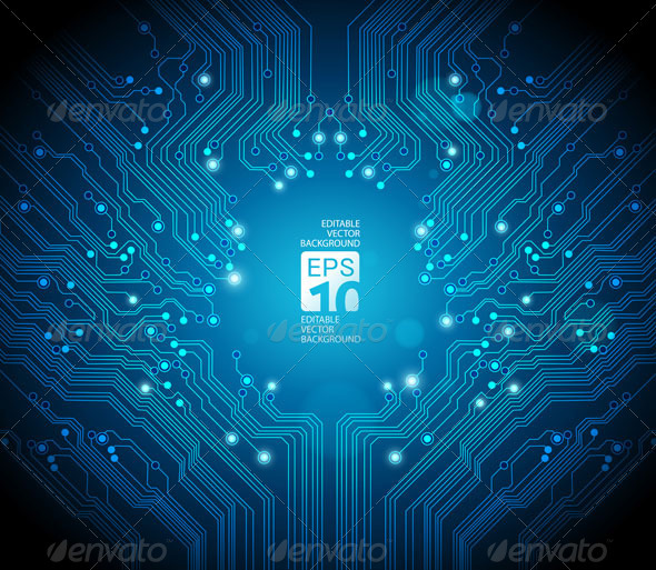 Abstract Circuit Board Background - 2 by carlosnance on DeviantArt
