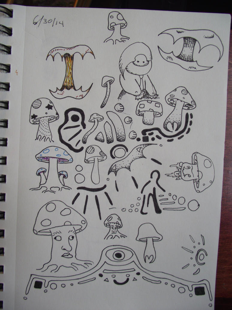 Page Of Doodles by BipolarCheese