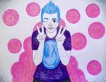 Blue Hair: Peace