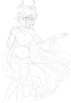 Lily Outline