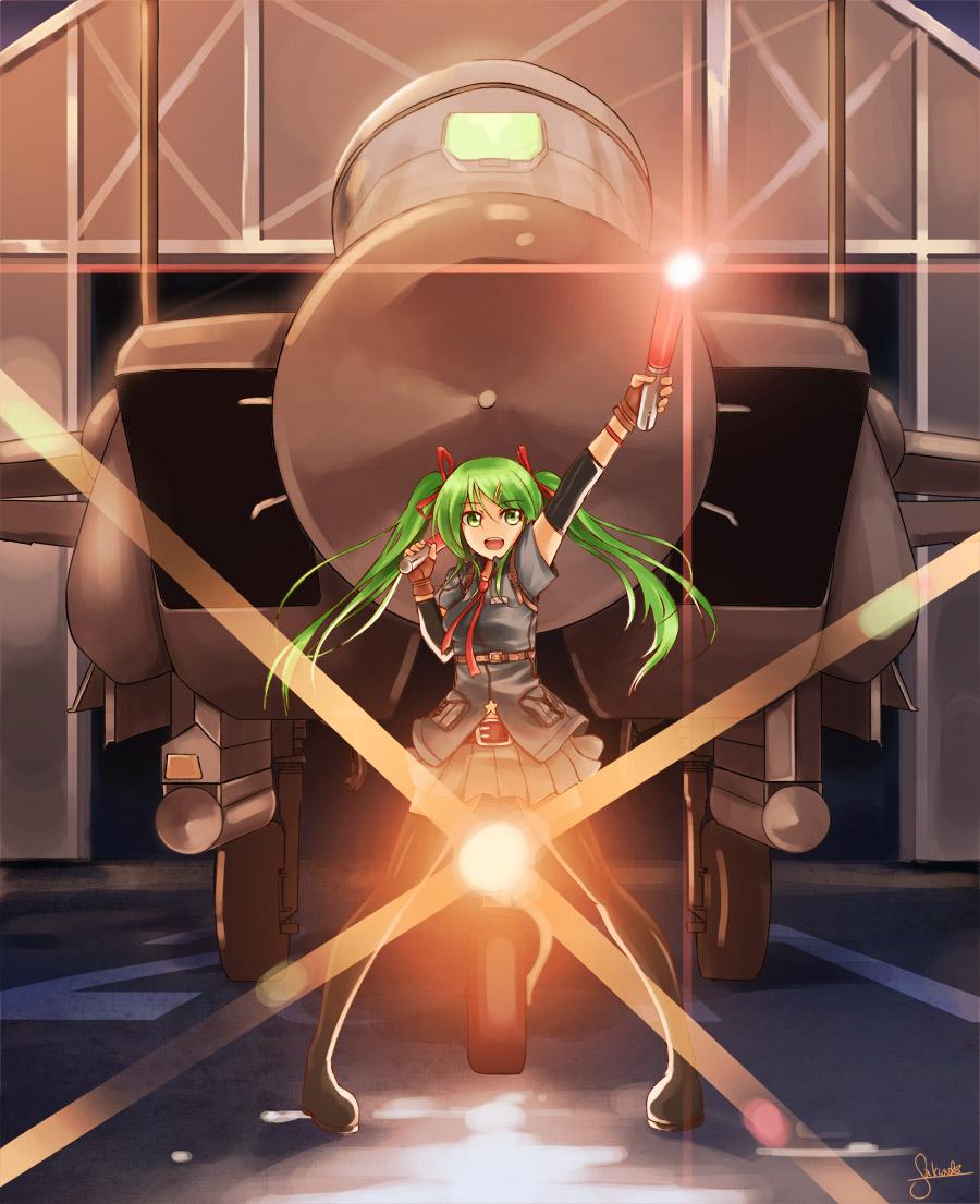 F-15 Miku by SakiaKR