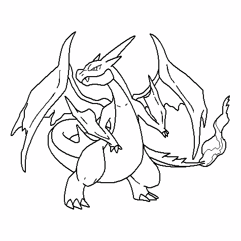 Charizard Coloring Pages Pokemon Coloring Pages Charizard Best Of ... | 475x475