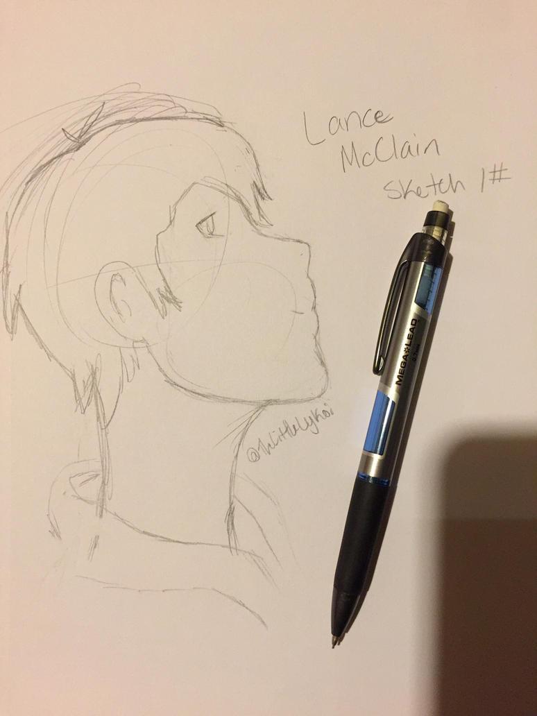Lance McClain Sketch by TheLittleLykoi