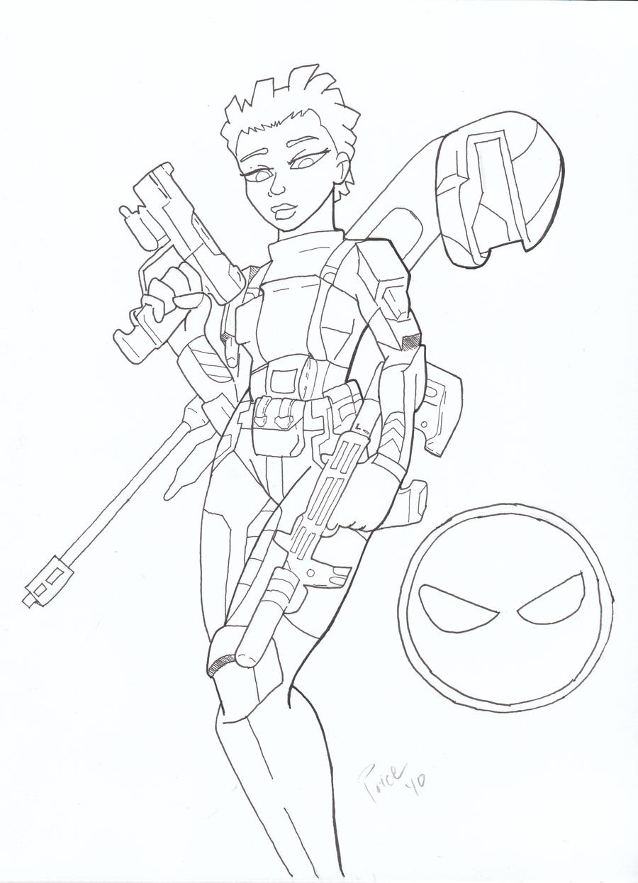 halo 3 odst coloring pages - photo#20