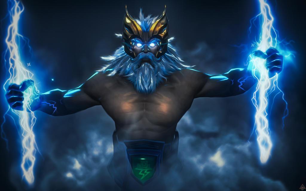 DOTA 2 - Zeus by TeeKeeuS87