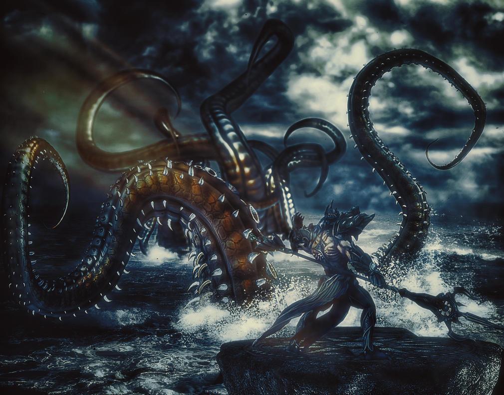 Poseidon by TeeKeeuS87