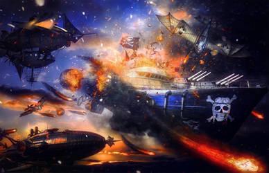 Sky Pirates by TeeKeeuS87