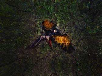 Fallen Angel by TeeKeeuS87