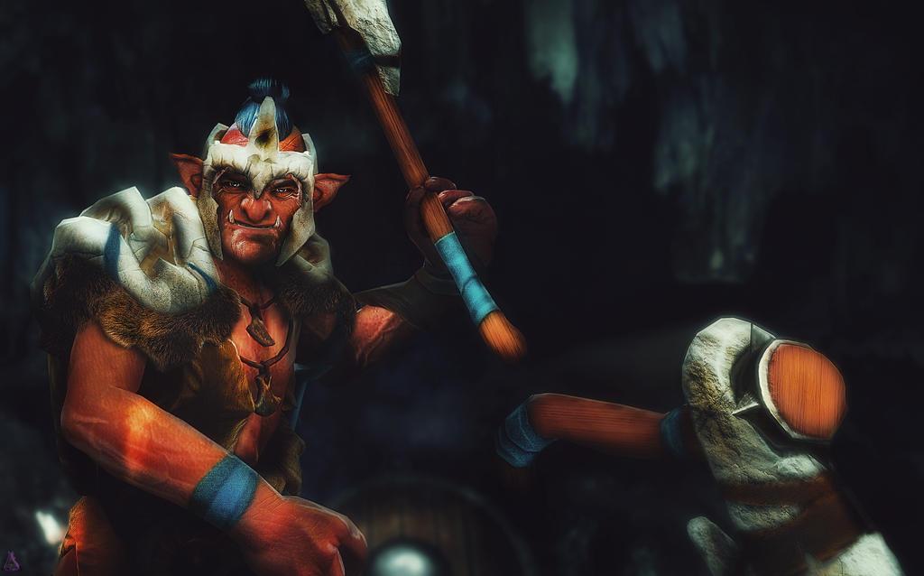 Dota 2   Troll Warlord by TeeKeeuS87