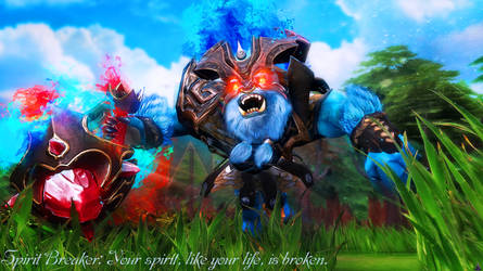Dota 2   Spirit Breaker by TeeKeeuS87