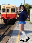 Rie in School Uniform 03