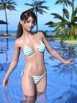 Kasumi at beach resort 01