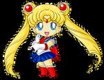 Commission: Chibi Sailor Moon for Katie0513