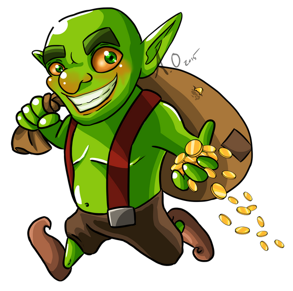 Commission: Goblin for Katie0513 by StarlightFroggy