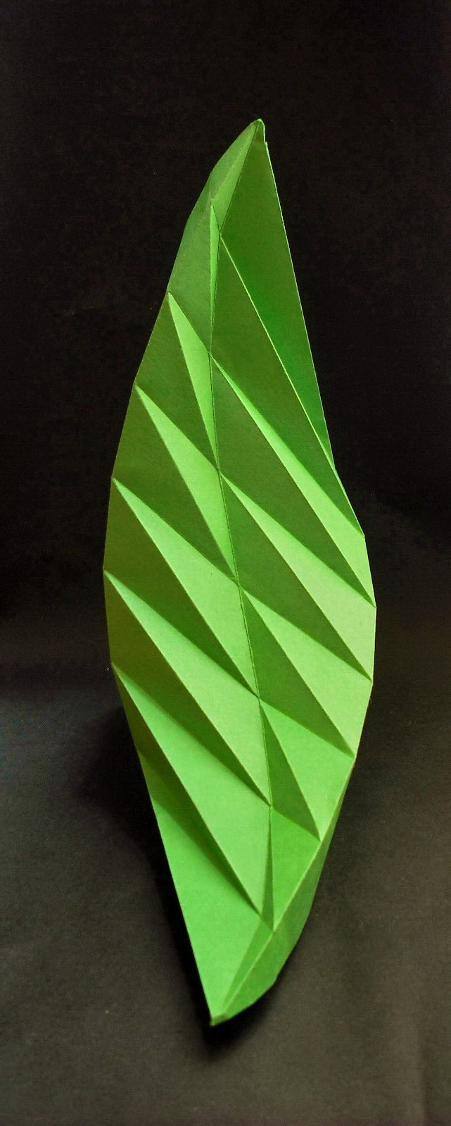 origami leaf by vemoridi on deviantart
