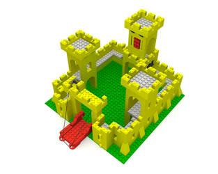 Lego Castle 375 6075 Part 2 by ghost-403
