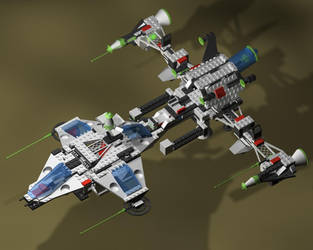 Lego Starship by ghost-403