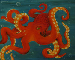 Octopus by crazycolleeny