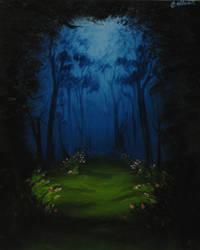 Dark Grove by crazycolleeny