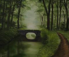 Green River Bridge by crazycolleeny