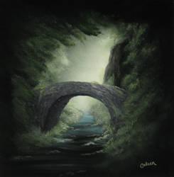 Stone Bridge by crazycolleeny