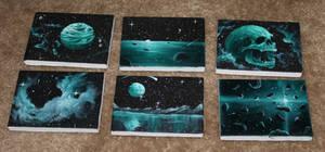 Mini Spacescapes - Turquoise