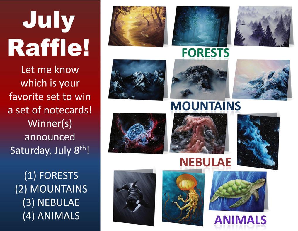 Raffle July by crazycolleeny