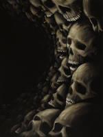 Skull 18 (50Skulls) by crazycolleeny