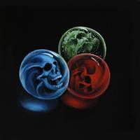Skull 26 (50Skulls) by crazycolleeny