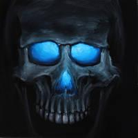 Skull 28 (50Skulls) by crazycolleeny