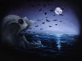 Skull 30 (50Skulls) by crazycolleeny