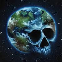 Skull 32 (50Skulls) by crazycolleeny