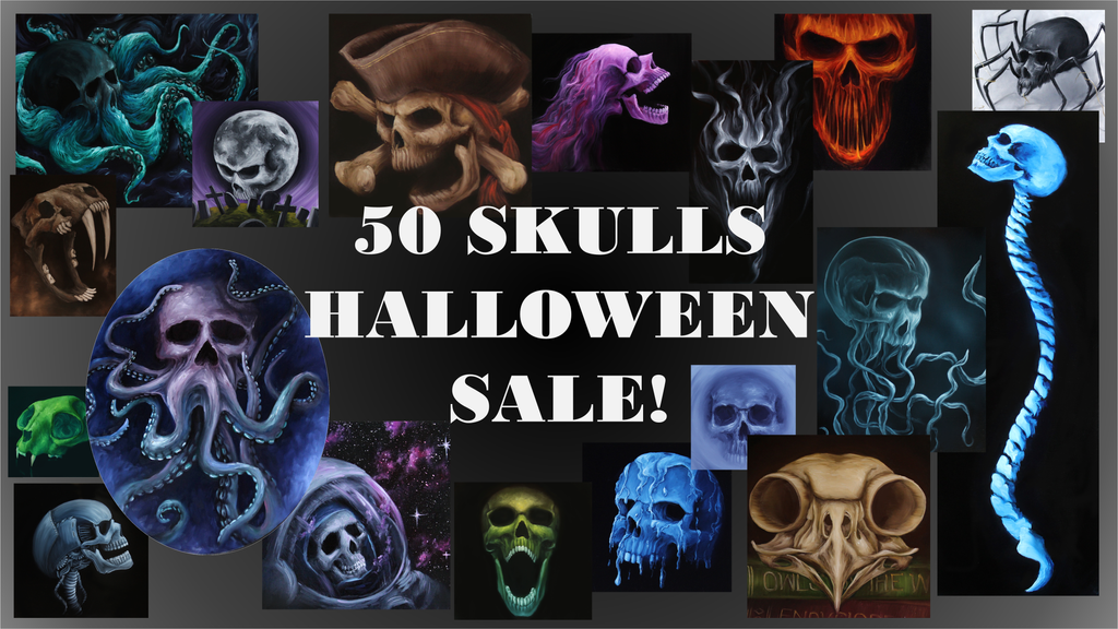 Skull Sale Picture by crazycolleeny