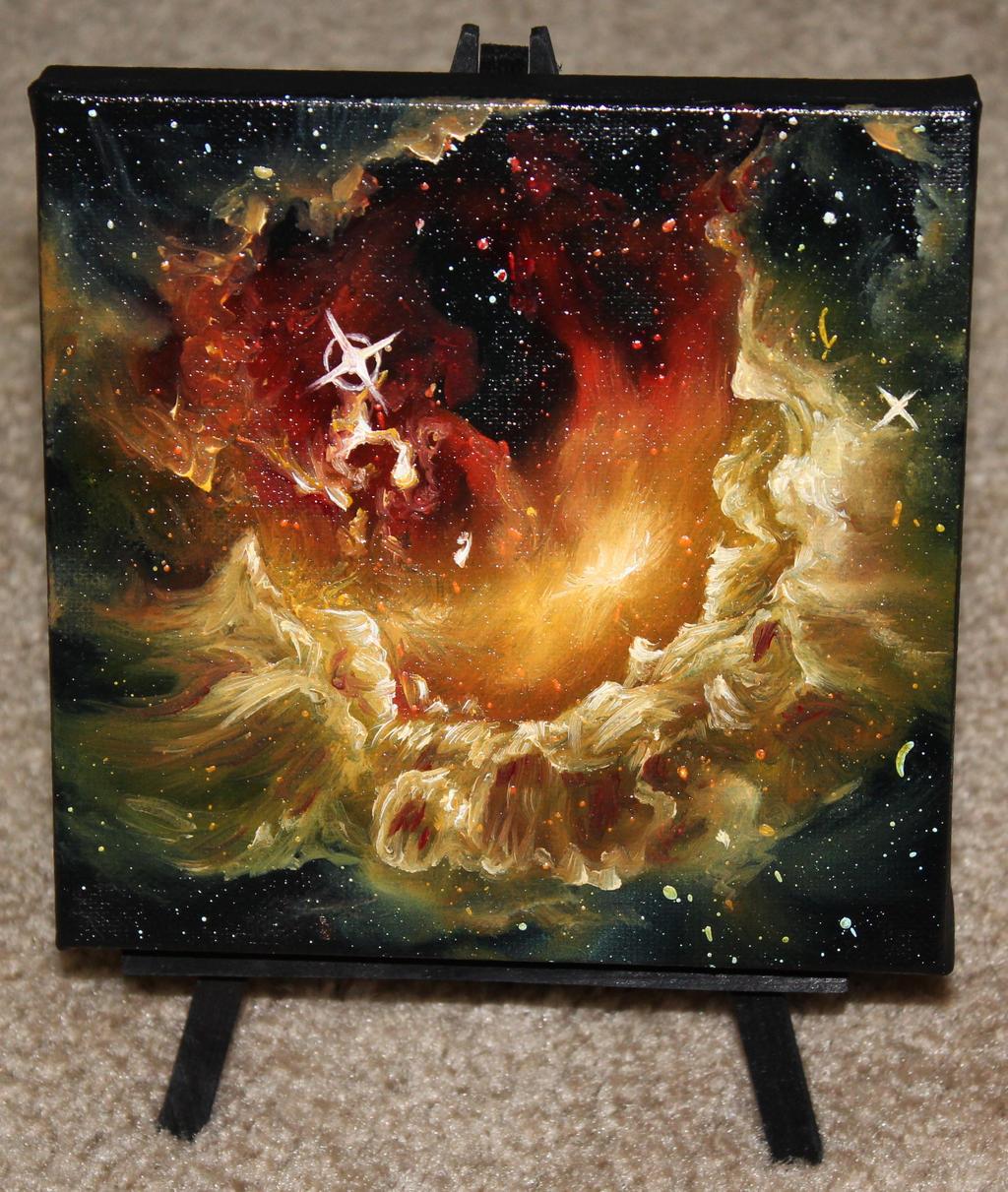Tadpole Nebula by crazycolleeny