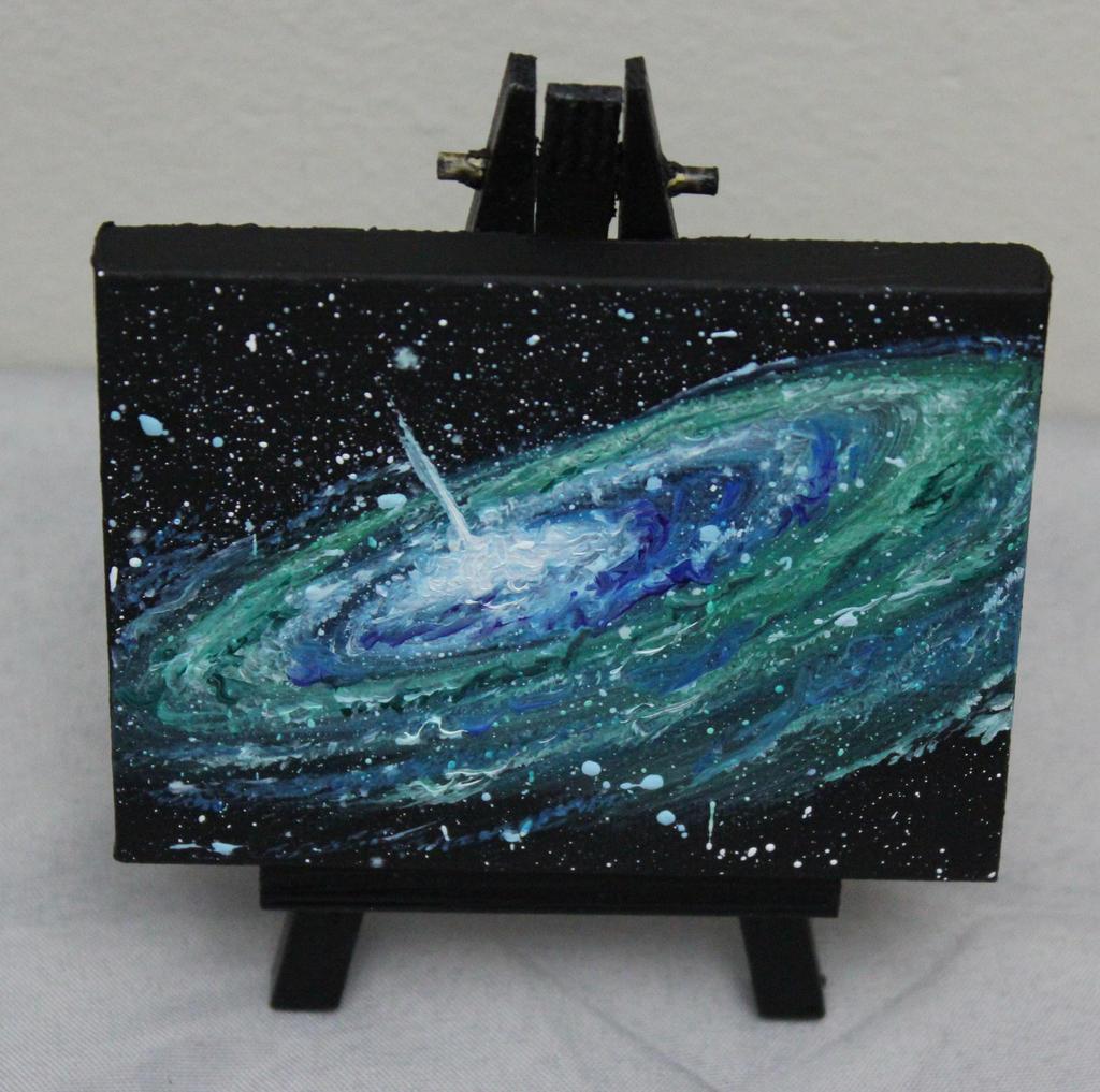 Mini Galaxy #1 by crazycolleeny