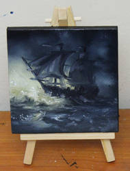 Mini Ship #4 by crazycolleeny