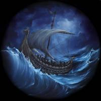 Viking Longboat by crazycolleeny