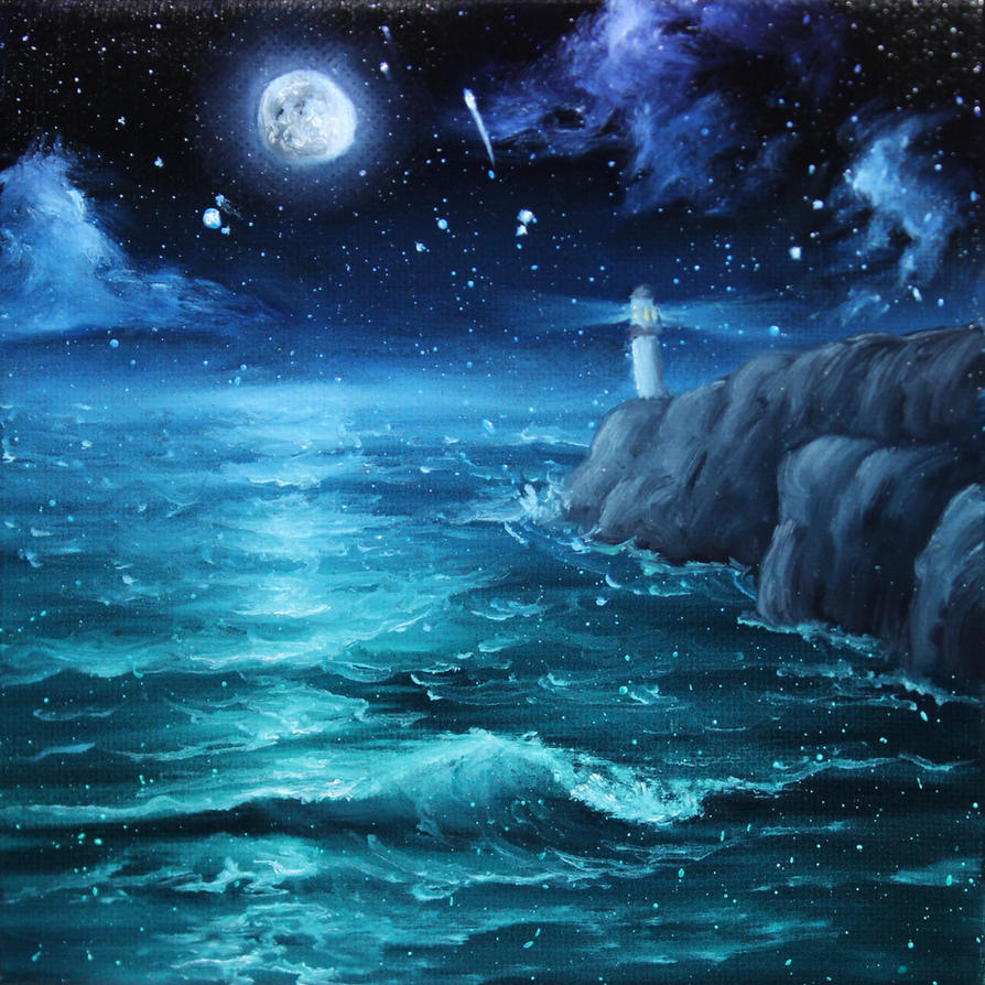 Lighthouse by crazycolleeny