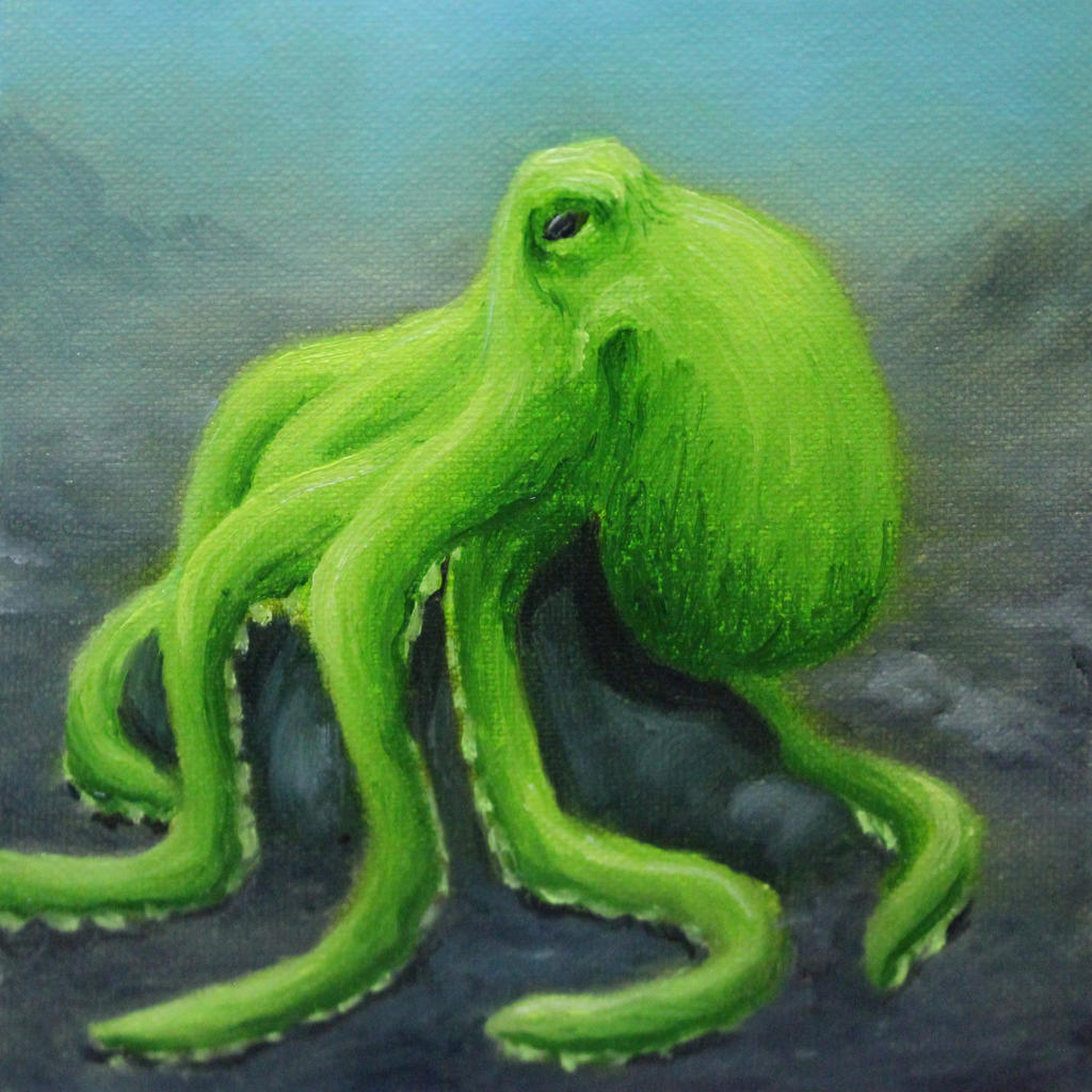 Lime Octo by crazycolleeny