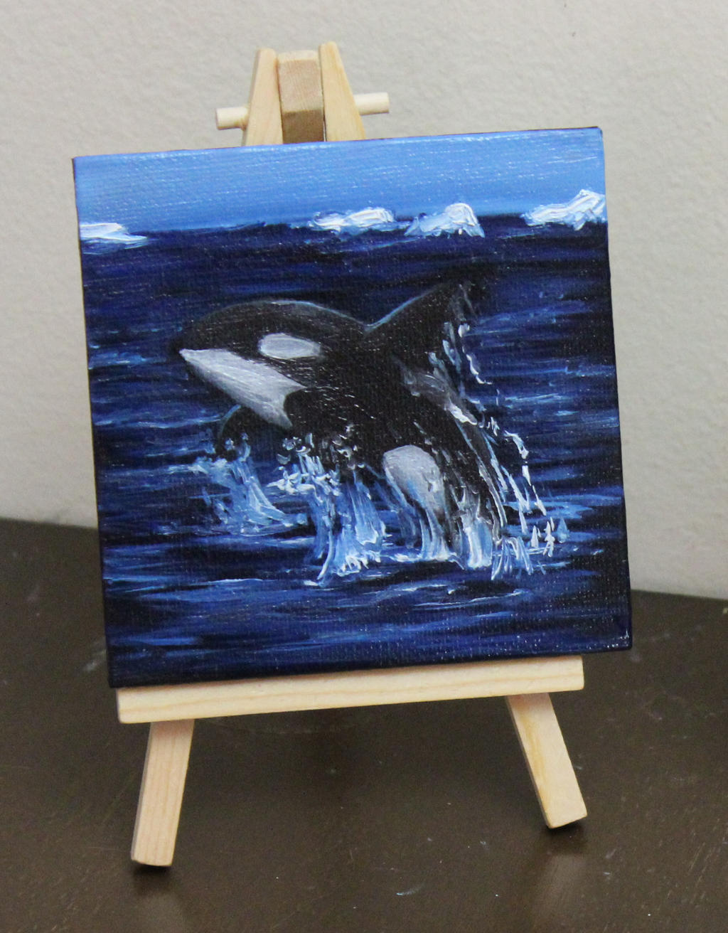 Mini Orca by crazycolleeny