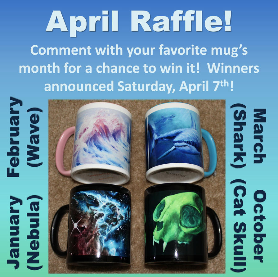 2018 April Raffle by crazycolleeny