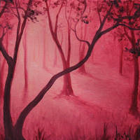 Pomegranate Breeze by crazycolleeny