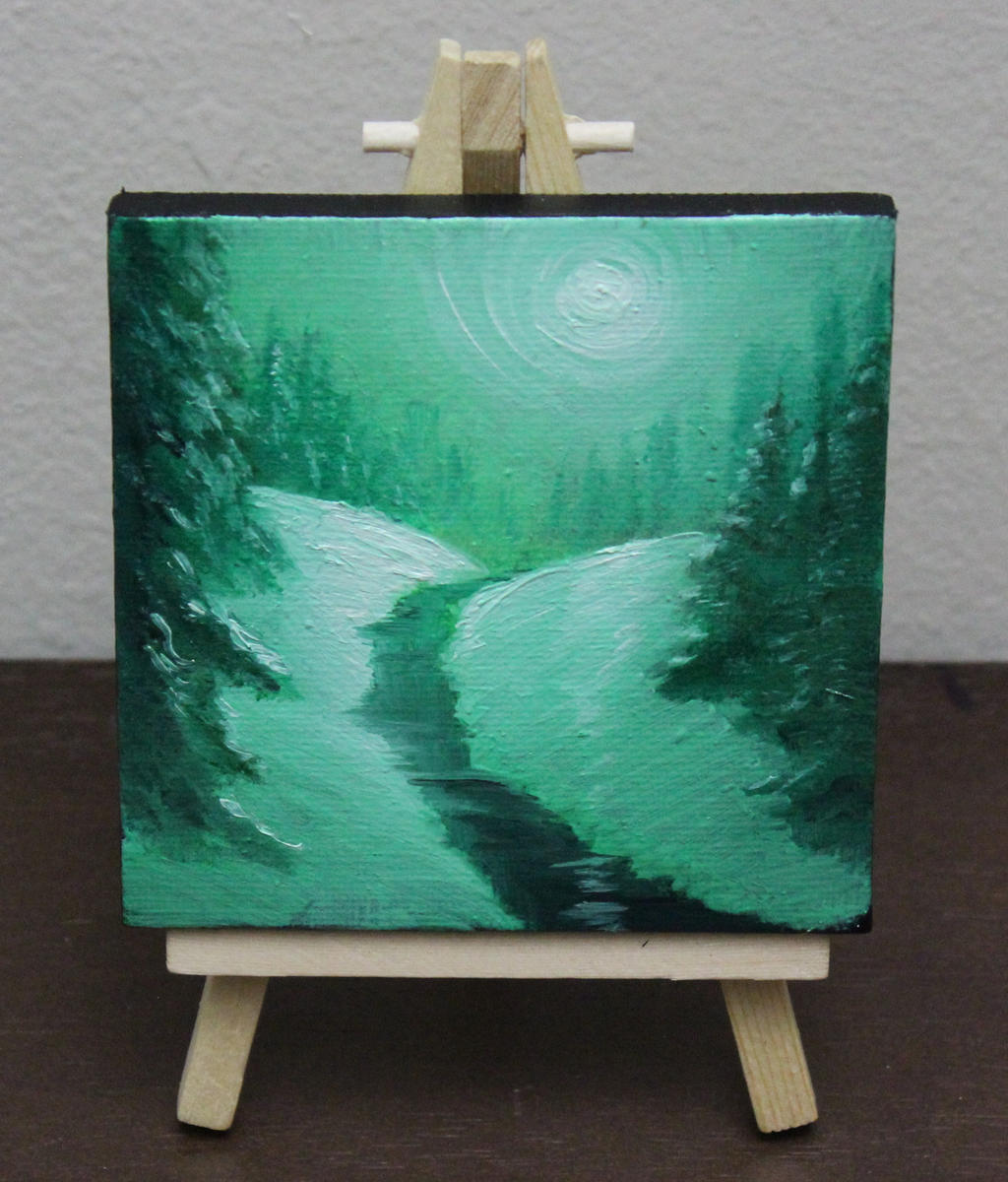 Mini Forest #4 by crazycolleeny