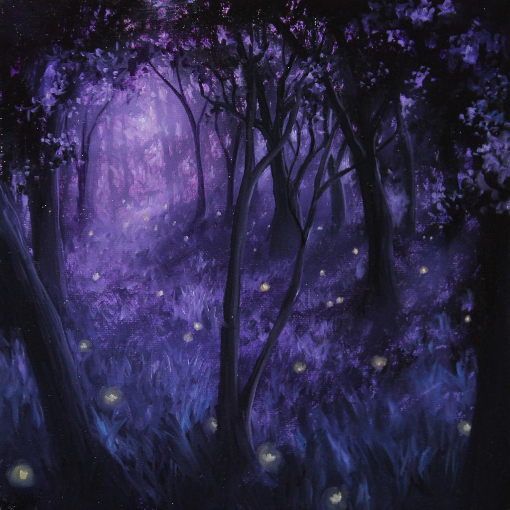 Fireflies by crazycolleeny