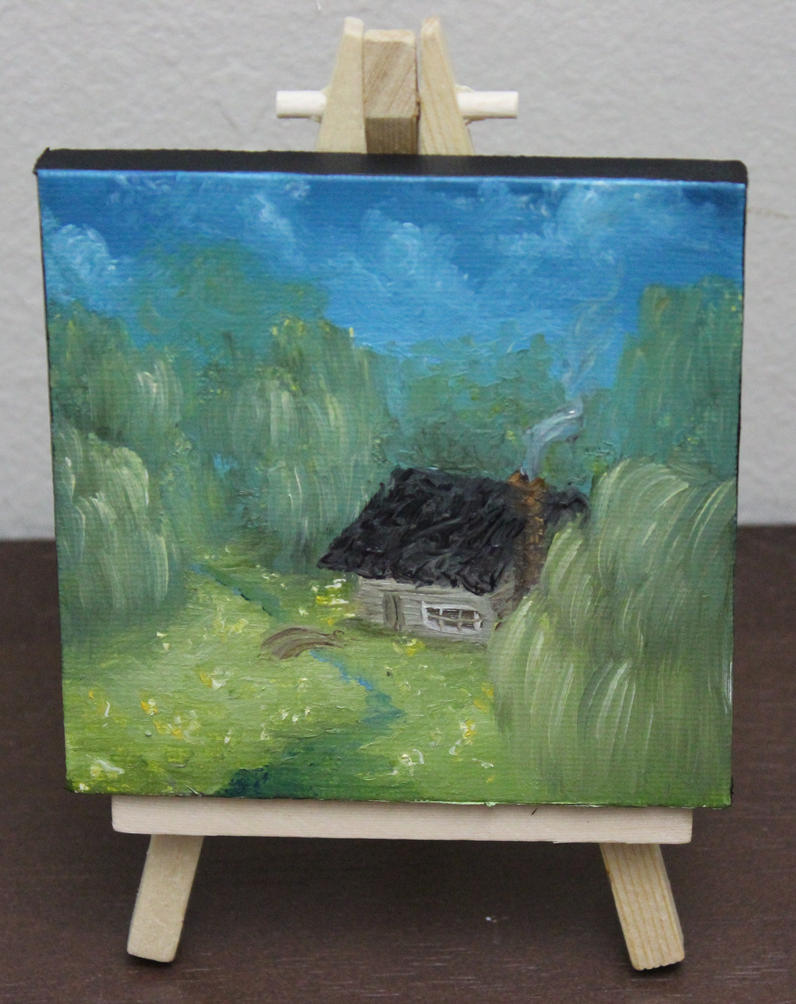 Mini Forest Cabin #4 by crazycolleeny
