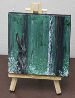 Mini Forest Bunny by crazycolleeny